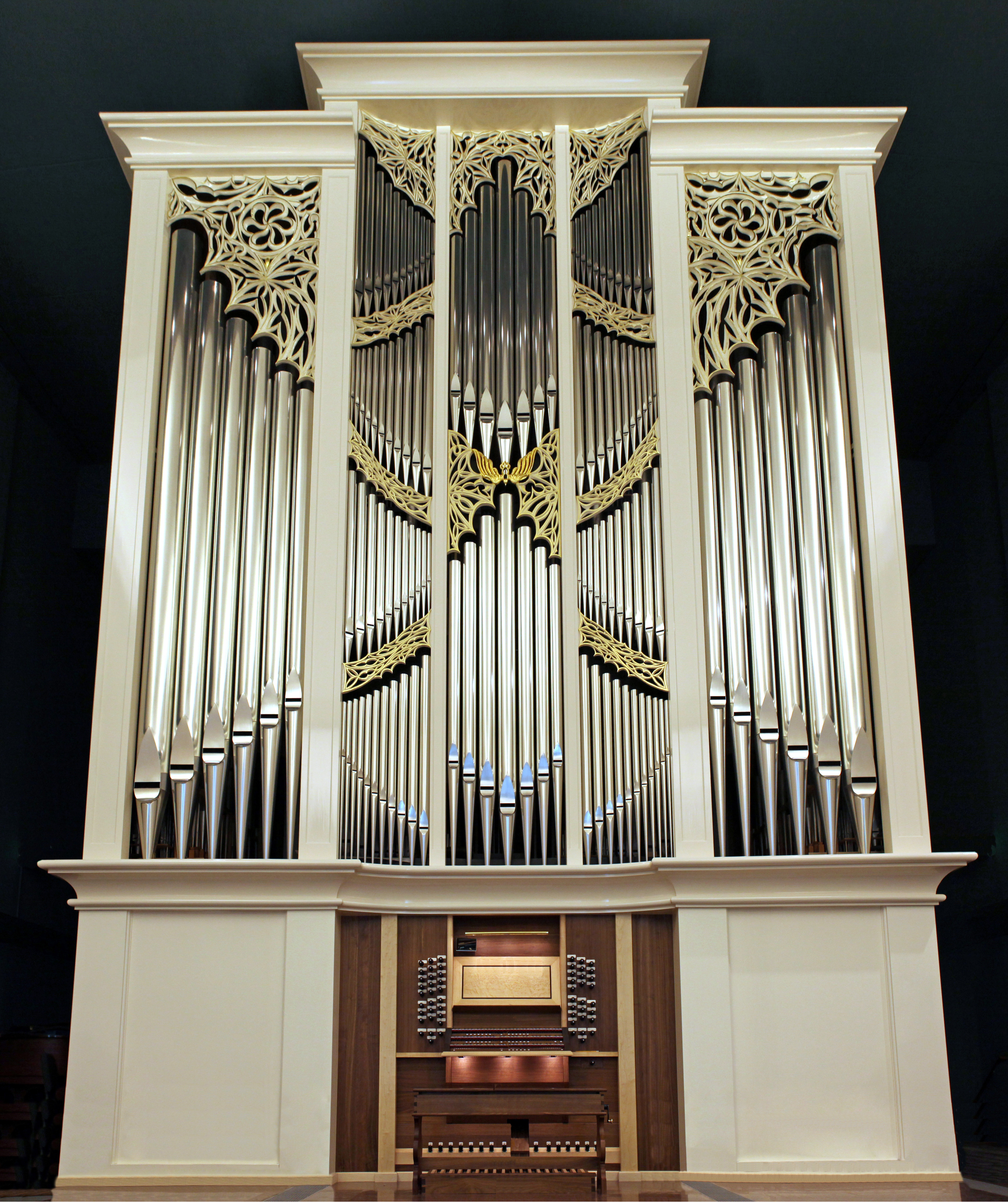 Work by Paul Fritts & Co. Organ Builders