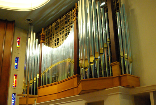 Work by Quimby Pipe Organs