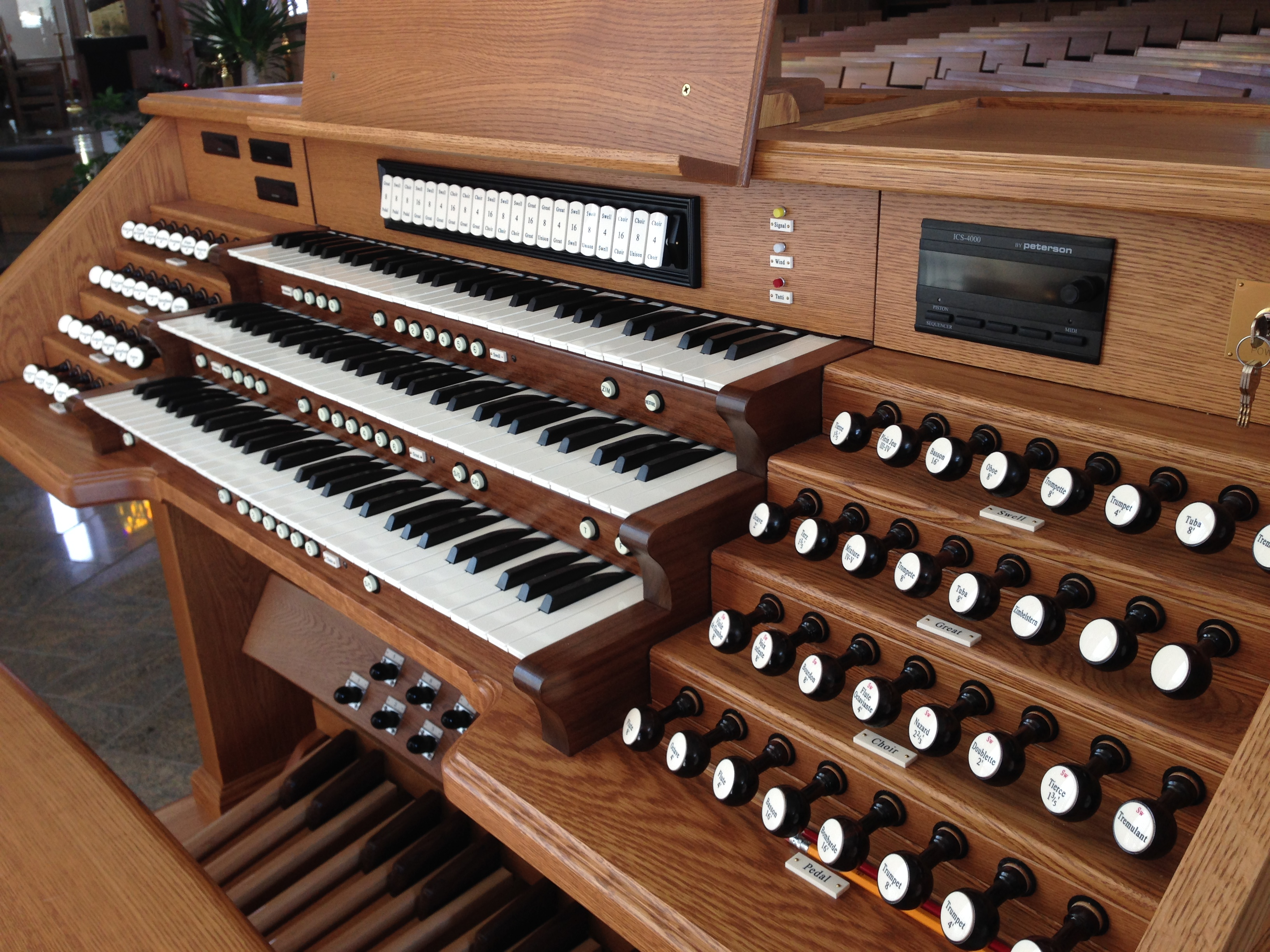 Bedient Pipe Organ Co - Associated Pipe Organ Builders of