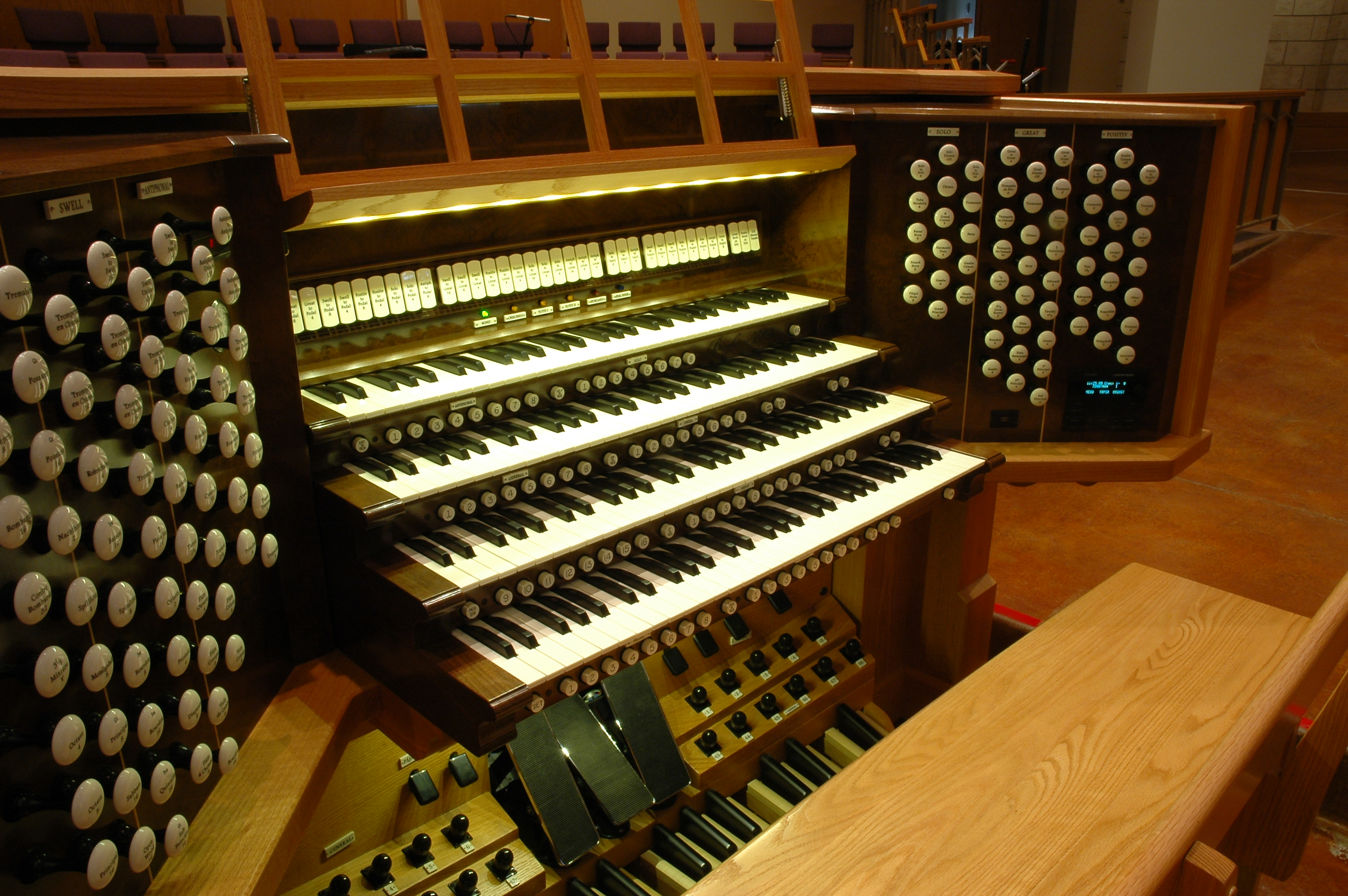 Work by Berghaus Pipe Organ Builders