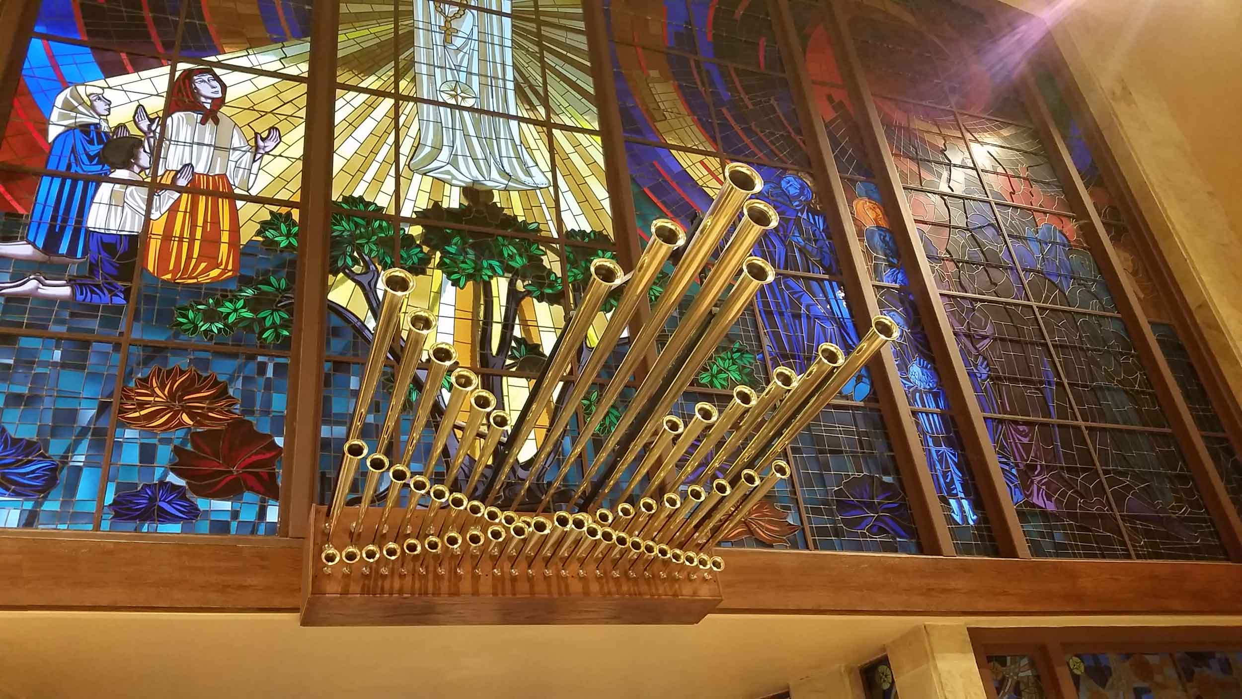Work by Kegg Pipe Organ Builders