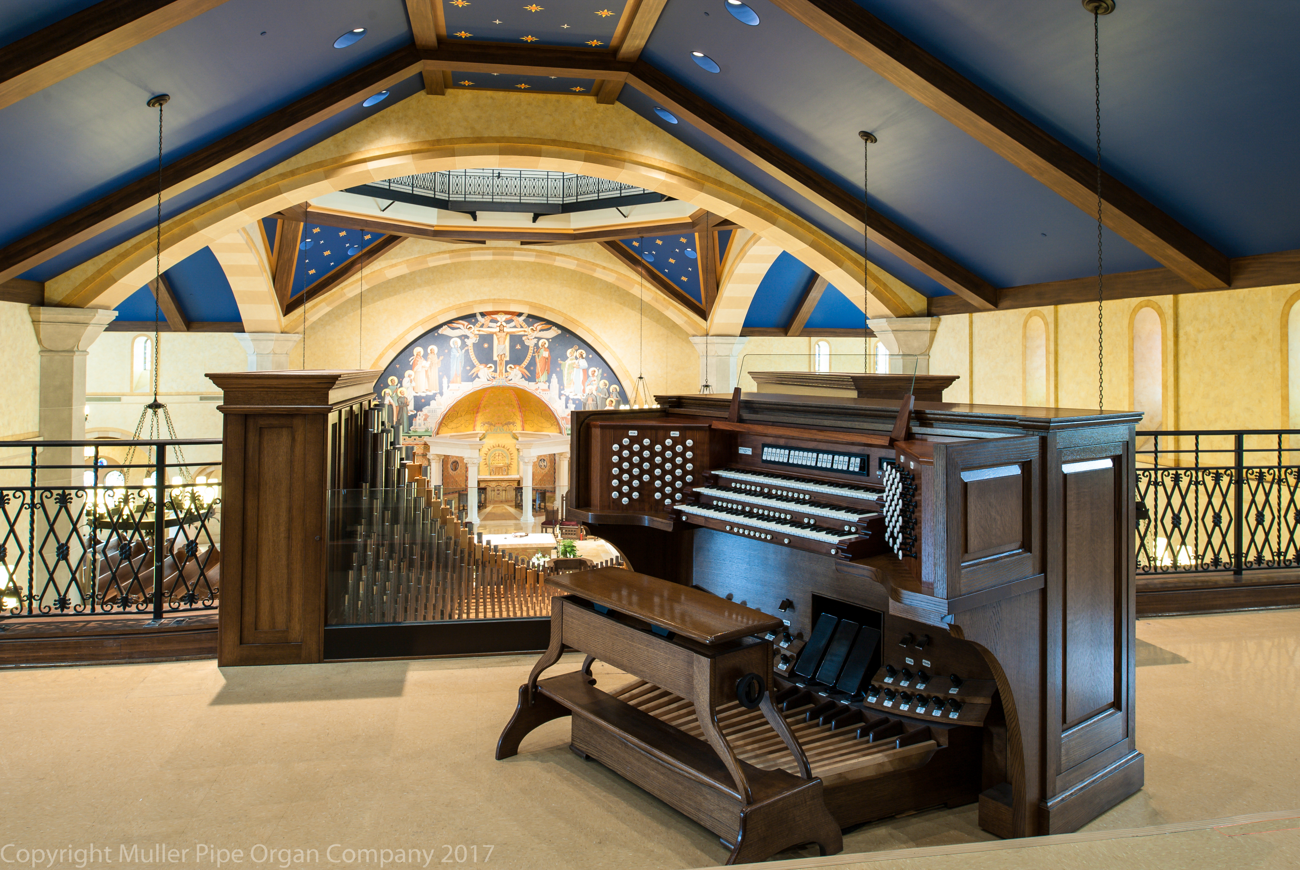 Work by Muller Pipe Organ Co