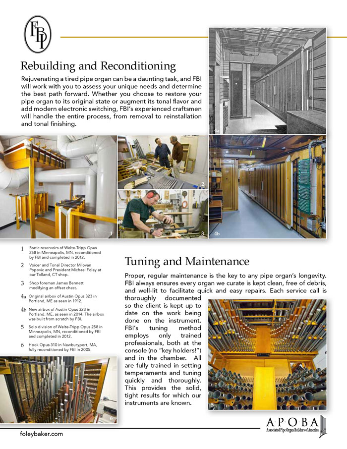Prospectus Page 2 for Foley-Baker, Inc.