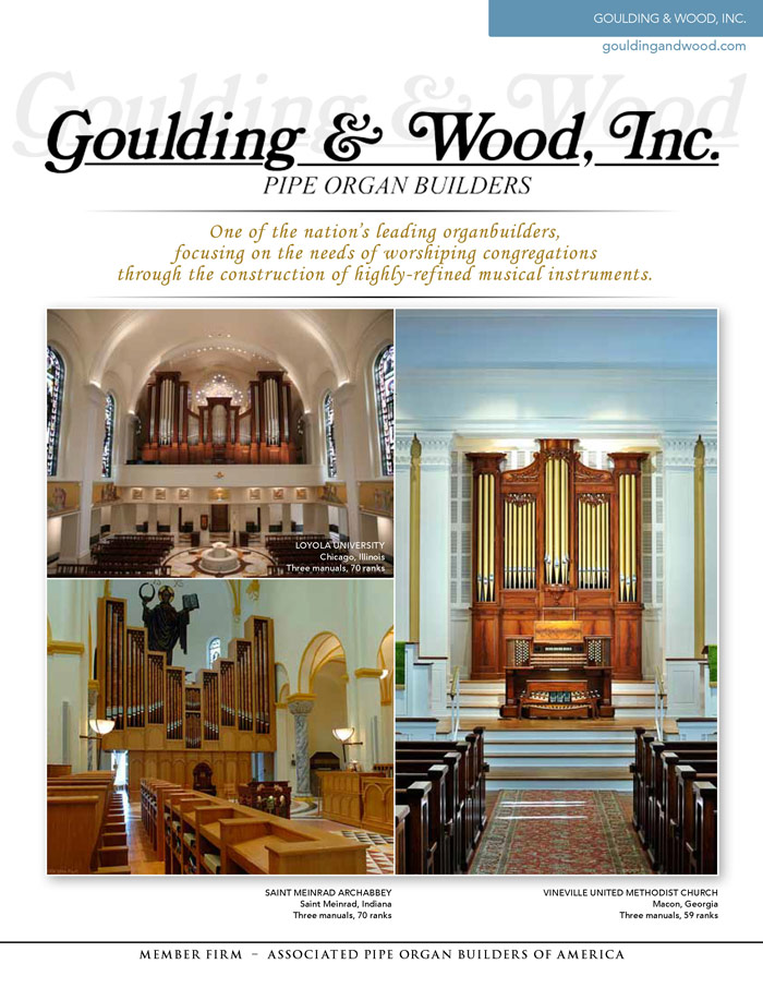 Prospectus Page 1 for Goulding and Wood